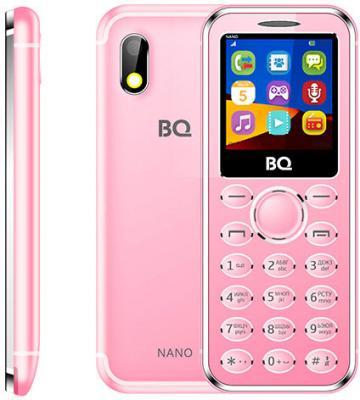 """Мобильный телефон BQ BQ-1411 Nano розовый 1.44"""" 32 Мб"""
