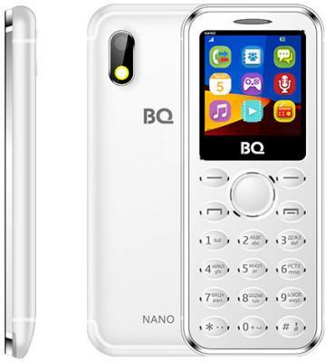 """Мобильный телефон BQ BQ-1411 Nano серебристый 1.44"""" 32 Мб"""