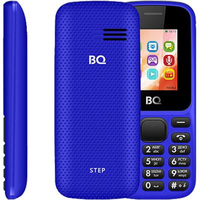 Мобильный телефон BQ 1805 Step темно-синий мобильный телефон bq m 1565 hong kong silver