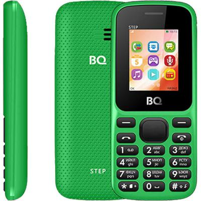"""Мобильный телефон BQ 1805 Step зеленый 1.77"""" 64 Мб"""