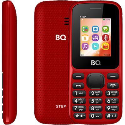 Мобильный телефон BQ 1805 Step красный мобильный телефон bq m 1565 hong kong silver