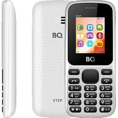 Мобильный телефон BQ 1805 Step белый 1.77 64 Мб мобильный телефон bq mobile bq 1805 step blue