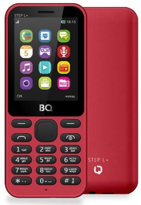 Мобильный телефон BQ BQ-2431 Step L+ красный 2.4 32 Мб мобильный телефон ginzzu mb501 красный