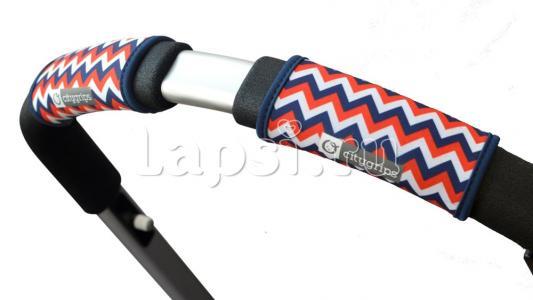Чехлы Choopie CityGrips на ручки для универсальной коляски(366 chevron tri-color красный) чехлы choopie citygrips на ручки для универсальной коляски длинные 502 zigzag color красный