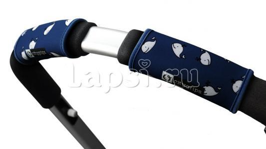 Чехлы Choopie CityGrips на ручки для универсальной коляски(378 navy whale синий) чехлы choopie citygrips на ручки для универсальной коляски 340 brown leopard коричневый