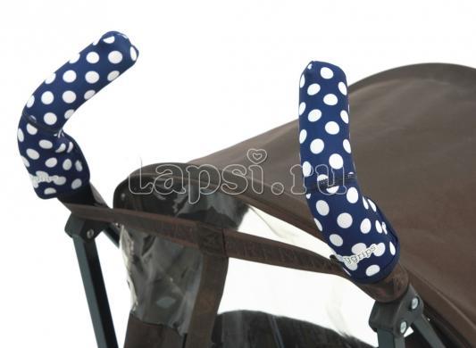 Чехлы Choopie CityGrips на ручки для коляски-трости(367 polka-dot navy синий) чехлы choopie citygrips на ручки для коляски трости 369 polka dot aqua голубой
