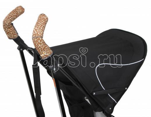 Чехлы Choopie CityGrips на ручки для коляски-трости(339 Brown Leopard коричневый) чехлы choopie citygrips на ручки для универсальной коляски 340 brown leopard коричневый