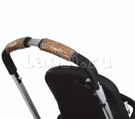 Чехлы Choopie CityGrips на ручки для универсальной коляски(340 Brown Leopard коричневый) чехлы choopie citygrips на ручки для универсальной коляски 340 brown leopard коричневый