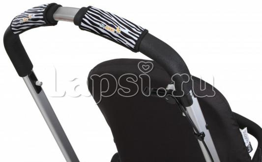 Чехлы Choopie CityGrips на ручки для универсальной коляски(338 Zebra серый) чехлы choopie citygrips на ручки для универсальной коляски 340 brown leopard коричневый