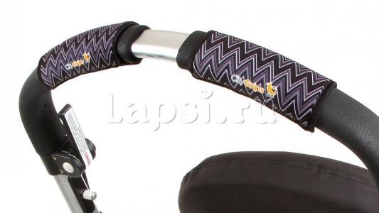 Чехлы Choopie CityGrips на ручки для универсальной коляски(318 ZigZag Black серый) чехлы choopie citygrips на ручки для универсальной коляски 340 brown leopard коричневый