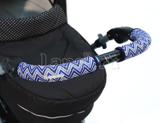 Чехлы Choopie CityGrips на ручки для универсальной коляски длинные(508 Chevron Baby Blue синий) чехлы choopie citygrips на ручки для универсальной коляски длинные 502 zigzag color красный