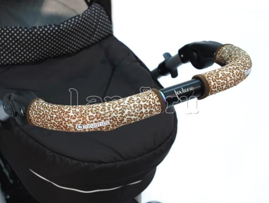 Чехлы Choopie CityGrips на ручки для универсальной коляски длинные(511 Brown Leopard коричневый) чехлы choopie citygrips на ручки для универсальной коляски длинные 502 zigzag color красный