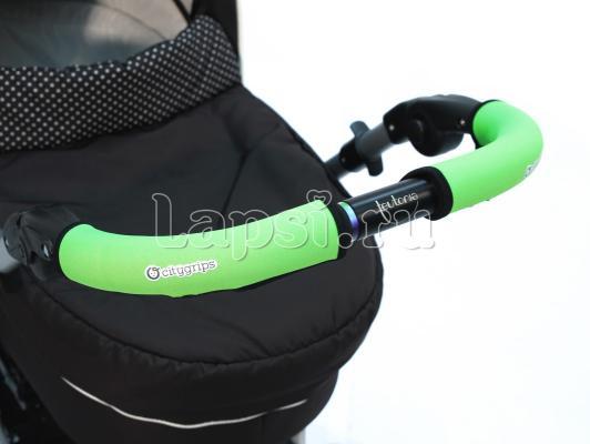 Чехлы Choopie CityGrips на ручки для универсальной коляски длинные(513 Neon Green зеленый) чехлы choopie citygrips на ручки для универсальной коляски длинные 502 zigzag color красный