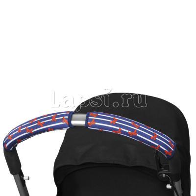 Чехлы Choopie CityGrips на ручки для универсальной коляски длинные(544 French Bows синий) rhinestone bows hair barrette