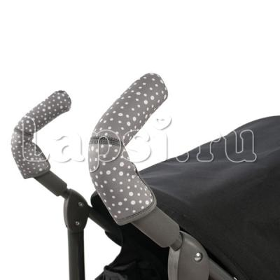 Чехлы Choopie CityGrips на ручки для коляски-трости(636 Andy Dots черный) сумка allrounder m dots