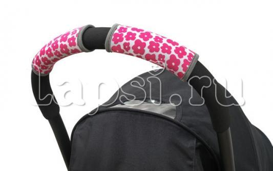 Фото - Чехлы Choopie CityGrips на ручки для универсальной коляски(631 Andy Flowers розовый) чехлы choopie citygrips на ручки для универсальной коляски 374 grey elephant серый