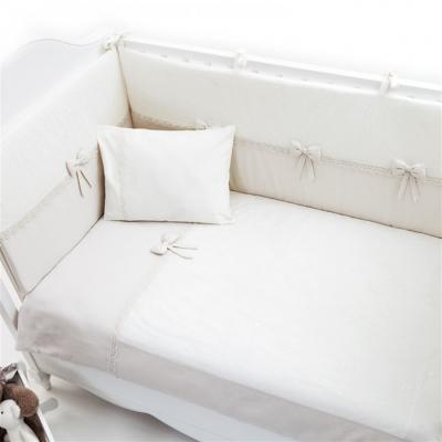 Постельный сет 120x60см 5 предметов Funnababy Premium Baby (cream) linvel lv 8870 5
