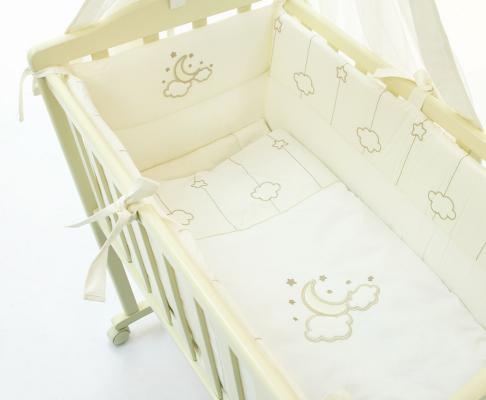 Постельное бельё для колыбели Funnababy Luna Elegant постельное бельё для колыбели funnababy luna elegant