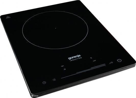 Индукционная электроплитка Gorenje ICE2000SP чёрный индукционная электроплитка tesler pi 22 чёрный