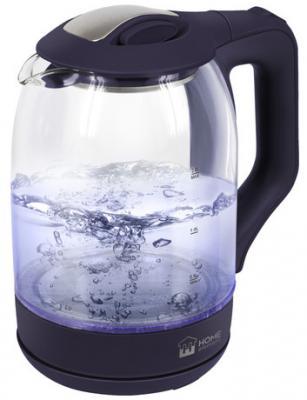 Чайник HOME ELEMENT HE-KT181 1800 Вт темный топаз 2 л пластик/стекло