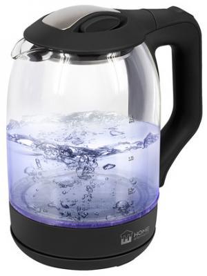 Чайник HOME ELEMENT HE-KT184 1800 Вт черный жемчуг 2 л пластик/стекло цена