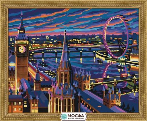 Роспись по холсту Ночной Лондон 40*50 цена