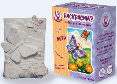 Набор для раскр-ния керамики с каранд. плакетка Лето цена
