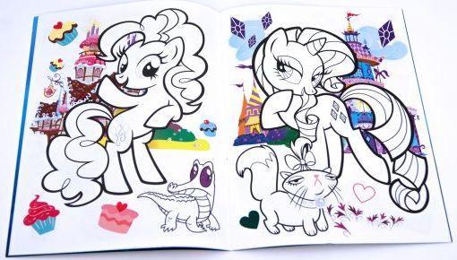 Живая раскраска 3D Мой маленький пони: Дружба – это чудо! от 123.ru