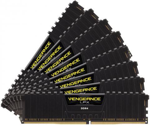 Оперативная память 64Gb (8x8Gb) PC4-24000 3000MHz DDR4 DIMM Corsair CMK64GX4M8C3000C16 оперативная память 128gb 8x16gb pc4 24000 3000mhz ddr4 dimm corsair cmr128gx4m8c3000c16w