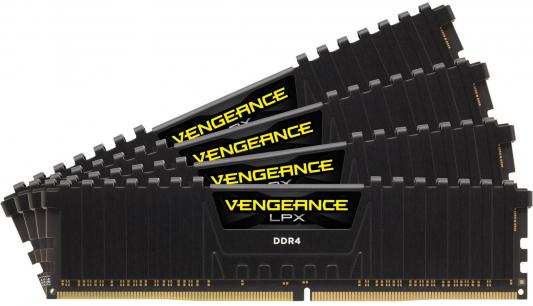 Оперативная память 64Gb (4x16Gb) PC4-29800 3733MHz DDR4 DIMM Corsair CMK64GX4M4K3733C17 corsair survivor 64gb серебристо черный