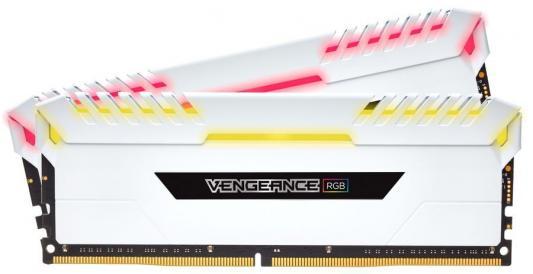 Оперативная память 16Gb (2x8Gb) PC4-24000 3000MHz DDR4 DIMM Corsair CMR16GX4M2C3000C16W оперативная память 128gb 8x16gb pc4 24000 3000mhz ddr4 dimm corsair cmr128gx4m8c3000c16w