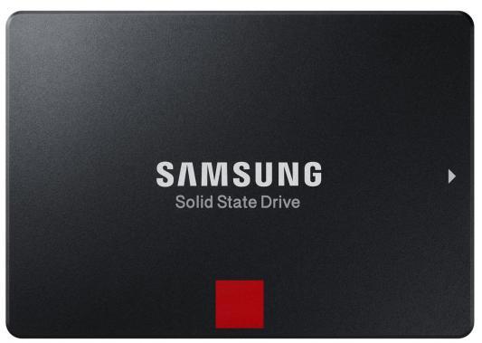Твердотельный накопитель SSD 2.5 256 Gb Samsung 860 Pro Read 560Mb/s Write 530Mb/s 3D MLC MZ-76P256BW