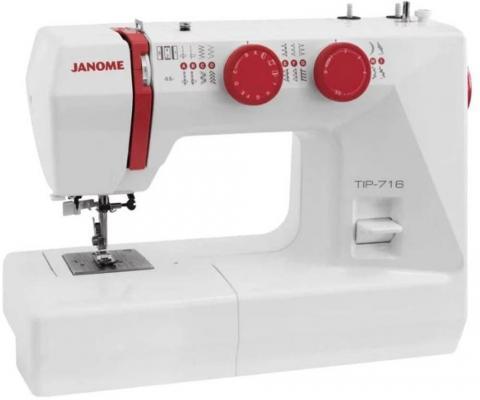 Швейная машинка Janome Tip 716 белый швейная машинка janome 90a