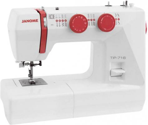 Швейная машинка Janome Tip 712 белый janome el546s швейная машинка