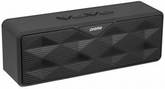 Портативная акустика Digma S-30 черный портативная акустика digma s 40 черный