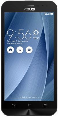 Смартфон ASUS ZenFone Go ZB500KG 8 Гб серебристый (90AX00B5-M00170)