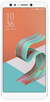 Смартфон ASUS Zenfone 5 Lite ZC600KL белый 6 64 Гб LTE Wi-Fi GPS 3G NFC 90AX0172-M00340 смартфон zte blade a510 серый 5 8 гб lte wi fi gps 3g