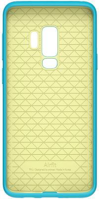Чехол (клип-кейс) Samsung для Samsung Galaxy S9+ Airfit Pop синий (GP-G965KDCPBIB) комплект в кроватку золотой гусь мишка царь 8 предметов голубой 1082
