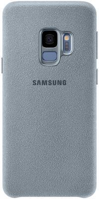 Чехол (клип-кейс) Samsung для Samsung Galaxy S9 Alcantara мятный (EF-XG960AMEGRU) клип кейс ibox fresh для samsung galaxy s5 mini черный