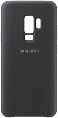 Чехол (клип-кейс) Samsung для Samsung Galaxy S9+ Silicone Cover черный (EF-PG965TBEGRU) клип кейс samsung silicone cover для galaxy s8 зеленый