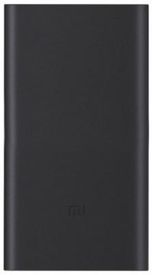 Внешний аккумулятор Power Bank 10000 мАч Xiaomi Mi Power Bank 2i черный VXN4229CN цена 2017