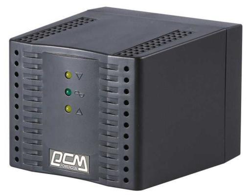 Стабилизатор напряжения Powercom TCA-3000 4 розетки белый