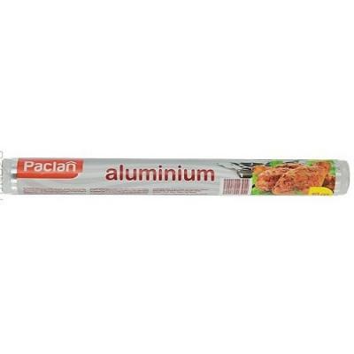 PACLAN Фольга алюминиевая Extra strong 10м*29 см в рулоне крафт в рулоне бирюза оранж 100см 10м 1101853 page 1