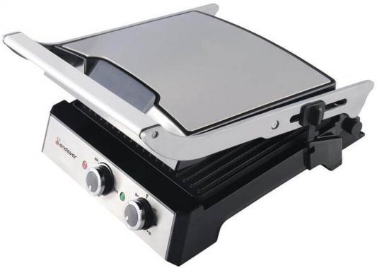 Электрогриль ENDEVER Grillmaster 230 серебристый чёрный электрогриль endever grillmaster 230