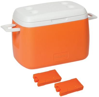 FORESTER Холодильник изотермический переносной 55л 2 аккумулятора холода в ПОДАРОК