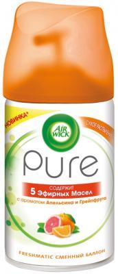 Освежитель воздуха Air Wick Pure 5 эфирных масел 250 мл 3055047 air wick pure освежитель воздуха 5 эфирных масел с ароматом цветущего лимона 250 мл
