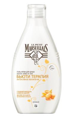 Гель для душа Le Petit Marseillais Бьюти Терапия: Сладкий миндаль и масло карите 250 мл 91951 l occitane масло для душа карите 250 мл