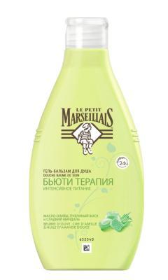 """Гель для душа Le Petit Marseillais """"Бьюти терапия: Масло оливы, пчелиный воск и сладкий миндаль"""" 250 мл 01562"""