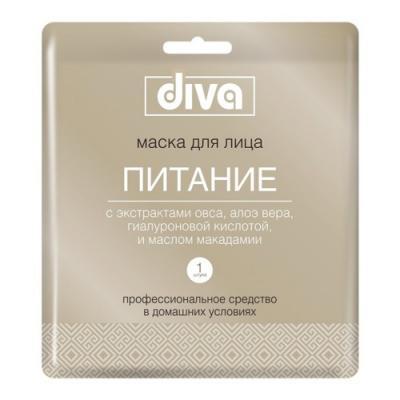 DIVA Маска для лица на тканевой основе Питание серьги diva diva di006dwzgk63