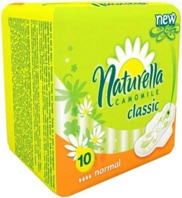 Прокладки впитывающие Naturella Classic - Camomile Normal Single 10 шт NT-83716405S